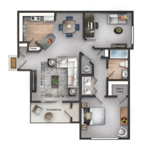 Collingwood Apartments Webb floorplan