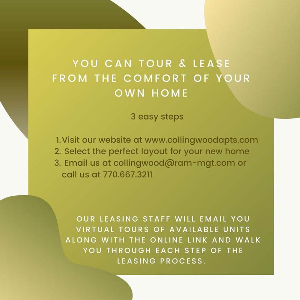 tour and lease virtually