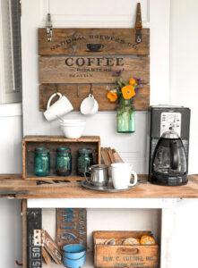 Vintage Coffee Station