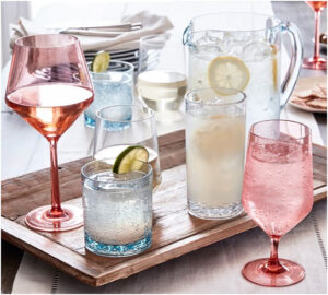 Pottery Barn Acrylic Drinkware