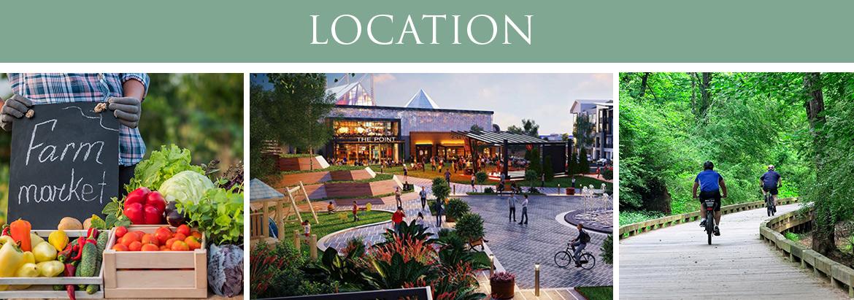 Collingwood Apartments - Location